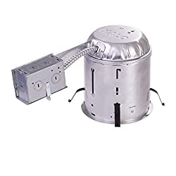 Halo H7RICT 6 Remodel Housing, Insulation contact, 6 Pack by Halo Recessed