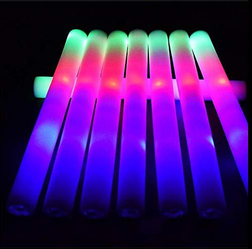 ks, blinkend, mehrfarbig, für Festivals, Geburtstage, Partyzubehör, Hochzeiten, Konzert (100 Stück) ()