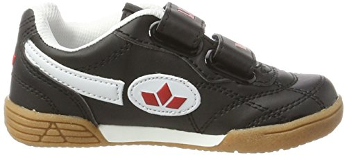Lico Bernie V, Chaussures de Fitness Mixte Enfant Noir (Schwarz/Weiss/Rot)
