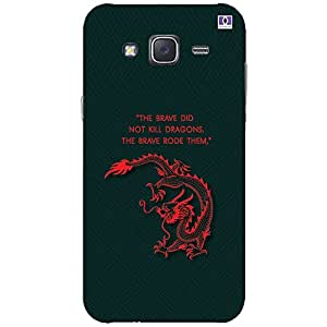 The Brave Rode Them - Mobile Back Case Cover For Samsung Galaxy J7 (2015)