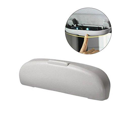 Portaocchiali auto,WINOMO Custodia occhiali auto anteriore di 21.5 x 6 x 3cm