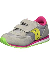 Saucony SL159642 Baby Jazz HL Gris Jaune Chaussures Fille Fille déchirure
