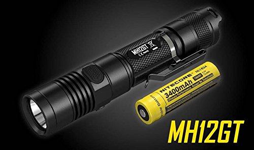 Preisvergleich Produktbild Nitecore Multitask Hybrid MH12GT XP-L HI V3 LED mit 1000 Lumen aufladbar