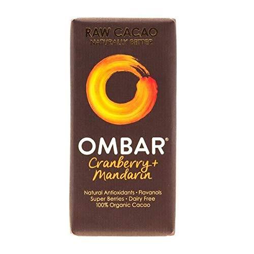 Ombar   Cranberry & Mandarin Bar   4 x 35g (DE) -