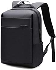 Laptop Backpack with USB Charging Port,Slim Travel Bag with Laptop Compartment for Men and Women,Water Resista