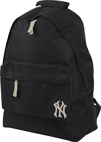 New York Yankees MLB Official Black And Cream Backpack School Gym Rucksack