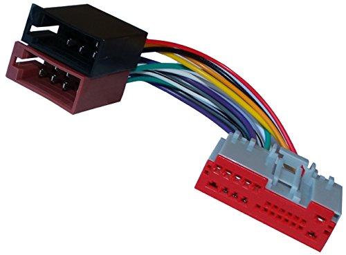 AERZETIX Adaptador cable enchufe ISO para radio de coche, vehiculos C11928