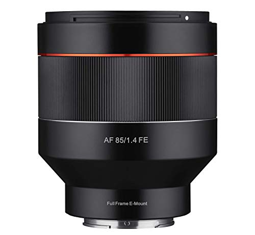 Kamera-mount-system (Samyang AF 85mm F1.4 Sony FE - 85mm Festbrennweite Autofokus Vollformat Objektiv für Sony Alpha Spiegellose und Spiegelreflex DSLR Vollformat APS-C Kameras mit Sony E Mount, FE Mount)