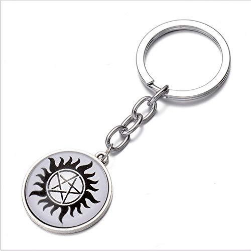 TUDUDU Heiße Billige Billigste Schmuck Schlüsselanhänger Böse Macht Kristall Glas Anhänger Schlüsselanhänger