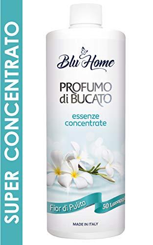 Blu Home Essenza Profuma Bucato Fior di Pulito (500 ml), Profumo per Bucato, Essenza Bucato, Lunga Durata, Super Concentrato per Lavat