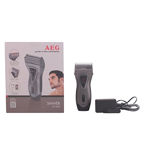 AEG HR 5625 - Máquina de afeitar de láminas flexibles y recorta patillas, color antracita