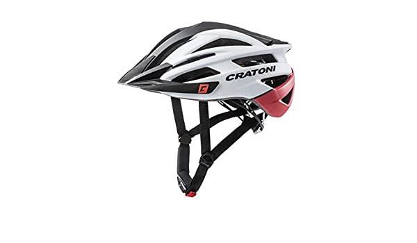 L//XL 58-62cm schwarz rot matt Cratoni Fahrrad Helm Fahrradhelm Agravic MTB Gr