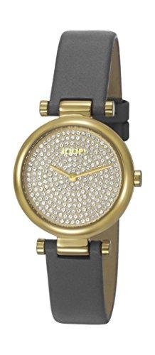 Joop! Damen Analog Quarz Uhr mit Leder Armband JP101722003