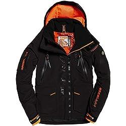 Superdry Ultimate Rescue Veste de Ski pour Homme S Noir Onyx