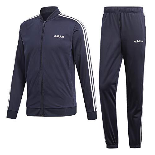 adidas Back To Basic 3 Stripes Tracksuit, Tuta Uomo