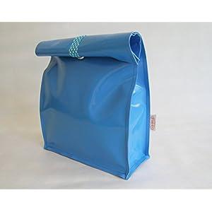 Kulturtasche / Lunchbag, wasserdicht aus LKW Plane von TITA BERLIN