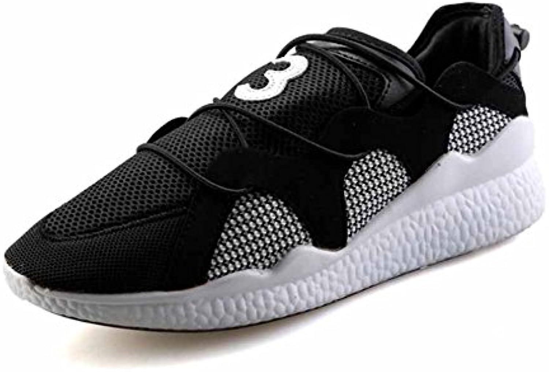 Hombres Zapatos corrientes ligeros Primavera Verano Nuevos zapatos atléticos de Malla respirable Zapatos de Fitness