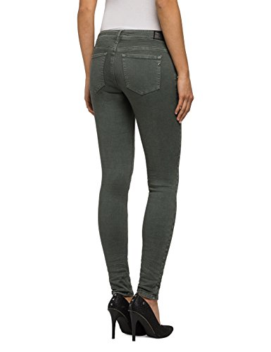 Luz Coin Zip - Jeans für Damen - Grün Replay vvjws66