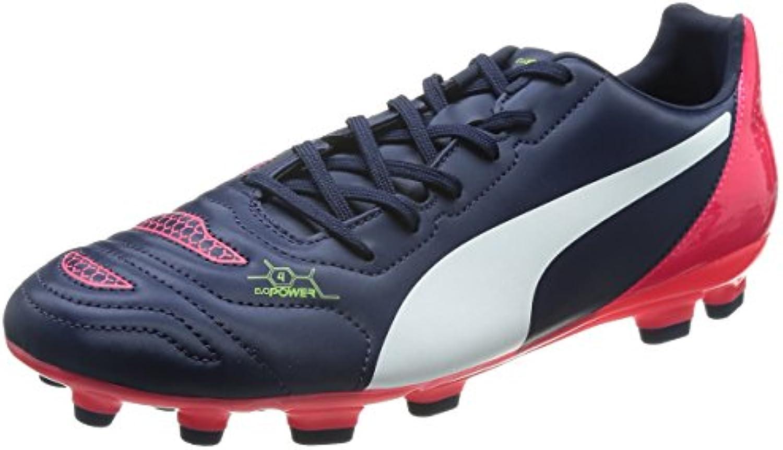 105f11915474cb puma evopower 4.2 ag chaussures chaussures chaussures de football  (formation) Bleu blau (Femmeteau blanc brillant plasma 01) taille: 10, 5 b  00pag9asm ...
