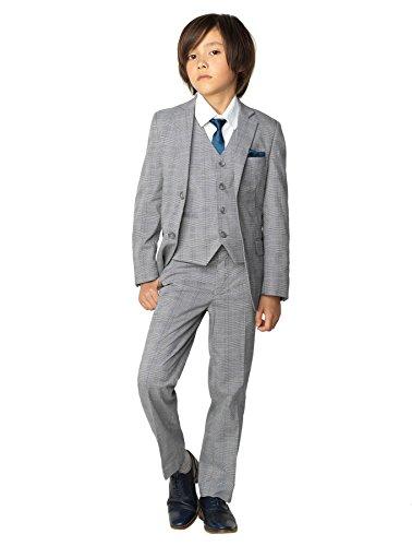 Paisley of London Anzug für Jungen, Pagen-Stil, grau, 1-14 Jahre - 8 Jahre (Erstkommunion Die Anzüge Für)