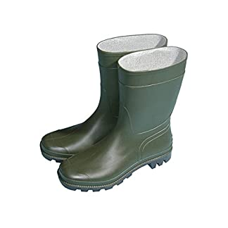 Town & Country TFW828 Original Half Length Wellington Boots Green UK Size 3 17