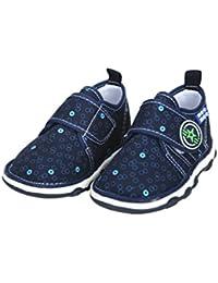 Mee Mee First Walk Baby Shoes with Chu Chu Sound (24 EU, Blue)