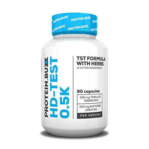 2 x Protein Buzz HD-Test 0.5K, 90 Kapseln (2er Pack)