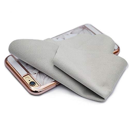 YUELANG Doppelseitiges Reinigungstuch Bildschirm Glaslinse Reinigungstuch Staubtuch for Handy-Pad DSLR-Camcorder Brille Sauberes Tuch (Specification : 1) Handy-camcorder