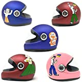 Anokhe Collections PC Shell Essential Safety Baby Full face Helmet for Kids with Impressive Decals (3-12 Years, Random Colour)