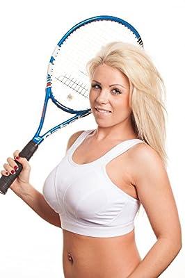 Womens High Impact Sports Bra Non Wired Plus Size Sports Bra Large Bosom Bra