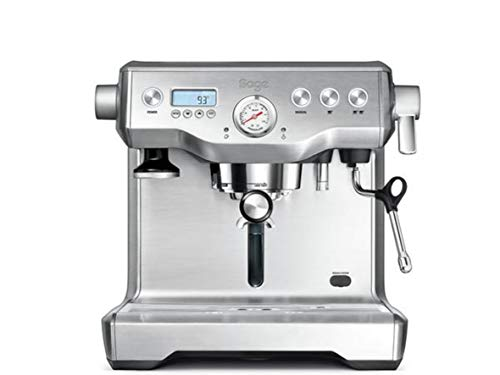 Sage BES920UK the Dual Boiler Espresso Machine - Silver thumbnail