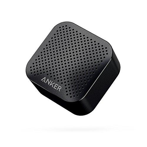 Anker SoundCore Nano Super Mini Bluetooth Lautsprecher Wireless Speaker mit Großen Sound und Mikrofon für iPhone, iPad, Samsung, Nexus, HTC, Laptops und weitere (Schwarz)
