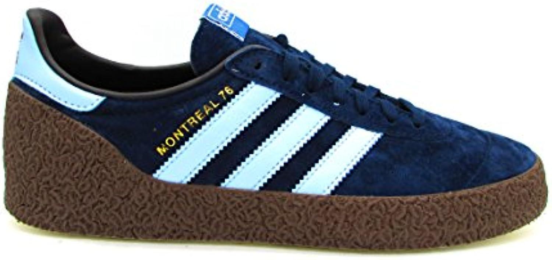 Adidas Montreal 76, Zapatillas de Deporte para Hombre, Azul (Maruni/Celcla/Dormet 000), 42 2/3 EU