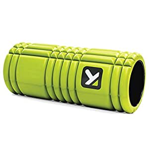 Trigger Point, Rullo da massaggi The Grid,Verde(Lime),Taglia unica(14 x 33 cm)