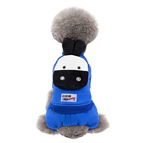 TLLW Disfraz Cachorro Navidad Perro Mascota, Cuatro