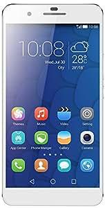 Honor 6 Plus Smartphone débloqué 4G (Ecran : 5.5 pouces Full HD - 32 Go - Double SIM  - Android 4.4 KitKat) Blanc