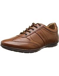 Geox - Zapatos de cordones de cuero para hombre