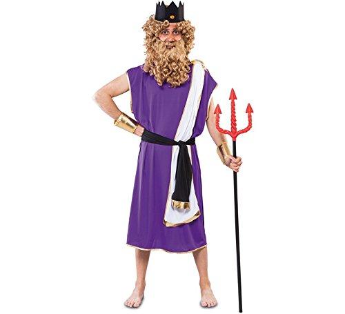 König Kind Triton Kostüm - Fyasa 706149-t04Neptun Kostüm, groß