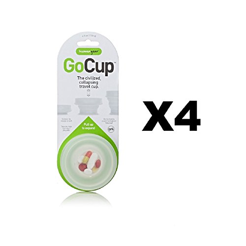 humangear-gocup-travel-cup-small-clear-4oz-collapsible-silicone-tumbler-4-pack