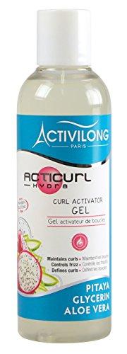 Activilong Acticurl Hydra Gel Attivatore Dei Riccioli, con Pitaya, Glicerina e Aloe Vera, 200 ml