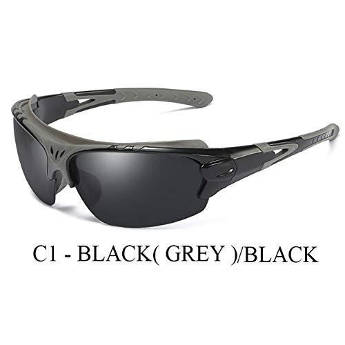 TJJQT Sonnenbrillen Unisex polarisierte Linse Driving Eyewear Outdoor Sonnenbrille Beschichtung Sonnenbrille Brille