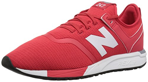 New Balance Herren Mrl247d1 Sneaker, Mehrfarbig (Cerise), 45 EU