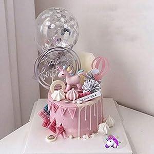 10 Piezas Feliz Cumpleaños Cake