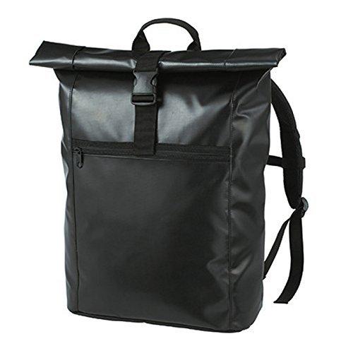 HALFAR® HF3908 Backpack Kurier Eco Rucksäcke Freizeit-Rucksäcke Tasche, Farbe:Black by Halfar (Kurier-tasche Black)