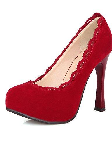 GGX/ chaussures polaire d'été des femmes / bureau de talons à bout rond& carrière / casual talon aiguille noir / jaune / rouge