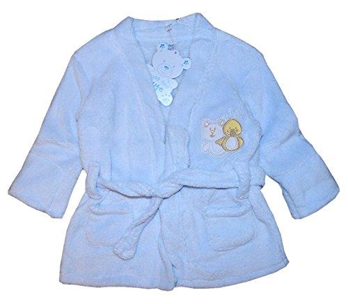 Baby Bademantel 50 56 62 68 Erstlingsbademantel Soft Fleece 0 / 4 Mon