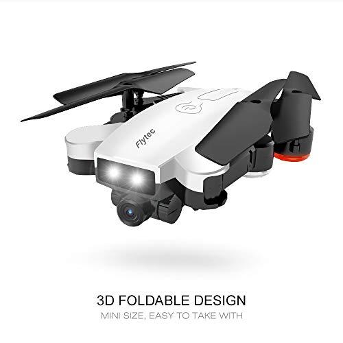 TianWlio Flytec T17 720P Doppelkameras Faltbarer RC Quadrocopter Headless Modus