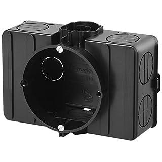 f-tronic Unterputz-Gerätedose mit seitlichen Klemmräumen, E510, Inhalt: 10, Stück