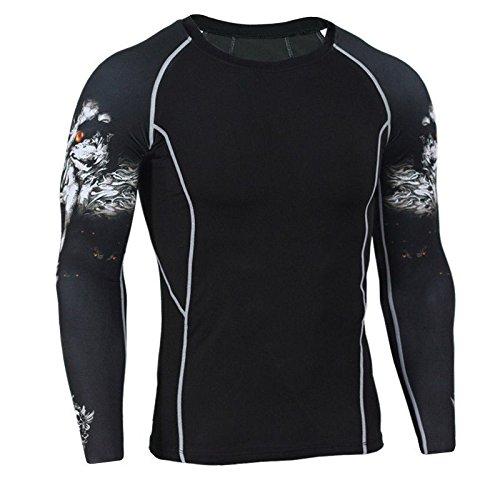 nuevos-hombres-manga-larga-compresin-camiseta-cool-patrn-bajo-base-capa-trmica-gimnasio-deportes-wol