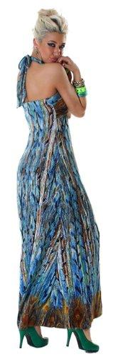 GRAFFITH - Robe -  - Sans manche Femme Bleu - Bleu